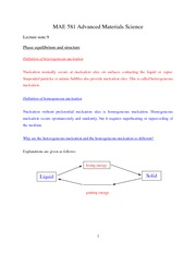 Lecture note 9 (10-04-2011)