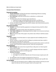 MBA 640 Midterm Study Guide