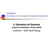 2DynamicsofSystems(LECTURERnotes)