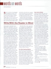#6) Write With the Reader in Mind