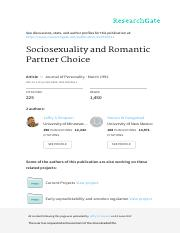 Sociosexuality and Romantic Partner Choice.pdf