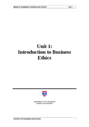 UofP - MBA560 - Business and Workplace Ethics - 06-10-06