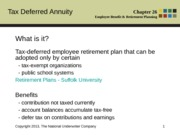 PP Chapter 26_Tax Deferred Annuity