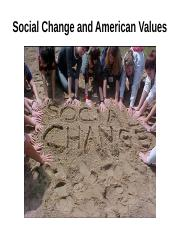 American society and American values