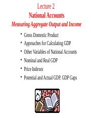 Lecture 2. National Accounts (Part 1) (7)