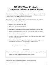 Word Project - Computer_History_Paper with Topics