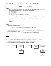 EEL4512_Exam 2_Solution_Fall2014