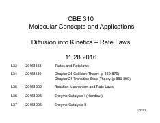 20161128_L33_CBE310_Kinetics and Rate Laws_1per