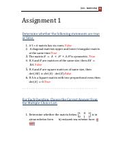 Assignment 1 Solutions_96640