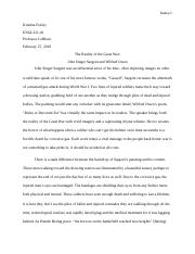 Modern Poetry First Paper.docx