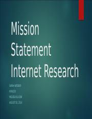 Mission Statement Internet Research.pptx