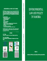 INCLUDES INFO ABOUT LEGAL SYSTEM OF NAMIBIA b65_Environmental Law and Policy in Namibia
