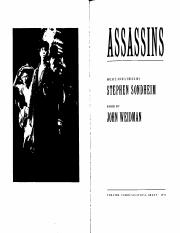 Assassins - John Weidman & Stephen Sondheim.pdf