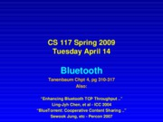 Lecture 3A-April 14 bluetooth