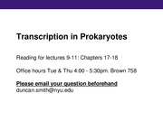 09 - Prokaryotic transcription-clean