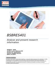 BSBRES401 Project Malwina Wilk.docx