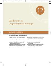 Chapter 12   Leadership in Organizational Settings.pdf