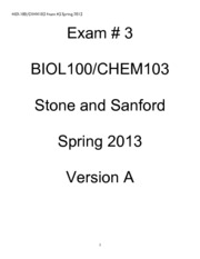 BIOL100_CHEM103_Exam+3_version_A