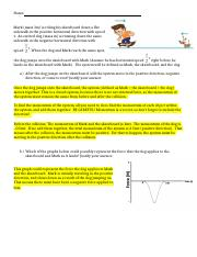 Mark and Roo MomentumImpulse Worksheet Answers