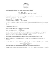 Problem Set 04 calc III spring 13 students