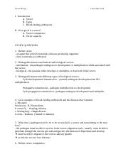 17 Vector Biology Study Guide.doc