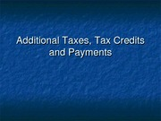 2011.7Tax Credits and Payments