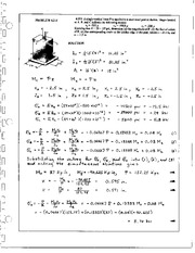 471_Mechanics Homework Mechanics of Materials Solution