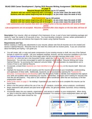 S15Resume Writing Assign2000
