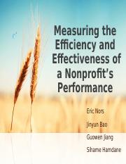 Measuring the Efficiency and.ppt