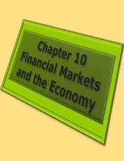 fwk-rittenmacro-ppt-ch10-financial-markets-and-economy