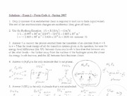 PAST EXAMS - EXAM 2 - SPRING 07 - WORKED SOLUTIONS