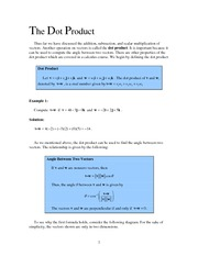 dot_product