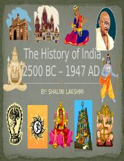 The History of India.pptx