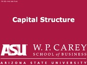 FIN302 13 Capital Structure