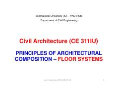 13-Civil Architecture-Class 13-Principles of architectural composition-FLOOR SYSTEM [Compatibility M
