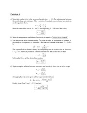 Physics7B - Fall 2013 - Bordel - Midterm 2 exam solutions