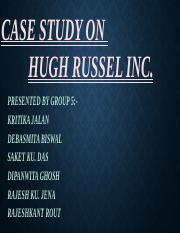 Case study on Huge Russel Inc..pptx
