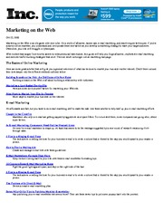 BUS111 Chapter 2 Marketing on the Web Link