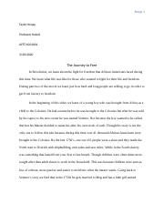 African In America Paper #3.docx