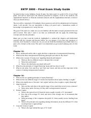 Exam III - Study Guide-3.doc