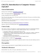CSC171: Introduction to Computer Science: Fall 2017.pdf