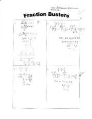 ALG1-Fraction Busters