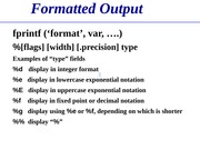 Lecture+10-+Output+and+errors--1-30-2015
