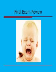 Lecture 25A - 123 - Final Exam Review Sp16.pptx