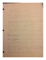 Geographers Study Notes