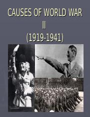 CAUSES OF WORLD WAR II.ppt