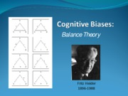 Cognitive+Biases+Balance+Theory