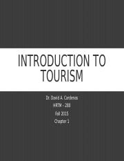 1. Introduction to Tourism 9-8-15.ppt
