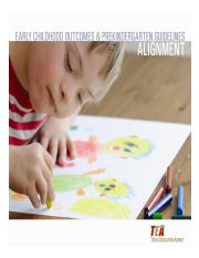 Early Childhood Outcomes and Prekindergarten Guidelines alignment Final (November 8 2011).pdf