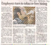Tobacco-freehiring